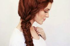 Beautiful hairstyle for length hair