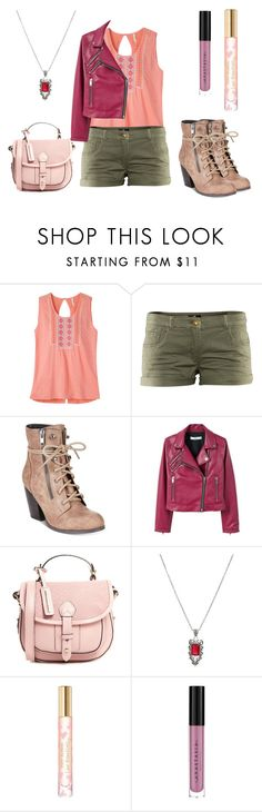"""""""Summer outfit 72"""" by estrellaojeda456 ❤ liked on Polyvore featuring Mountain Khakis, H&M, Mojo Moxy, MANGO, Hot Topic, Tory Burch and Anastasia Beverly Hills"""