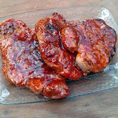Grilled Oriental Pork Chops recipe - allthecooks.com