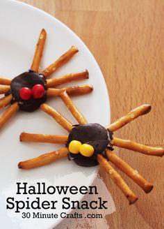 Halloween Spider Snack