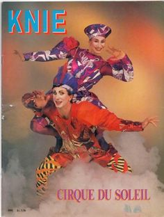 ZIRKUS / CIRCUS / CIRCO KNIE PROGRAMM 1992 Cirque du Soleil in Wetzikon ZH kaufen bei ricardo.ch
