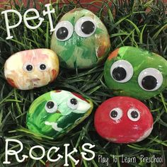 Pet Rock Process Art Project is part of Pet Rocks Process Art Painting Activity For Preschoolers - Preschoolers can join in the trendy fun of this process art project of painting pet rocks! Preschool Art Projects, Preschool Art Activities, Painting Activities, Classroom Activities, Preschool Classroom, Pet Theme Preschool, Process Art Preschool, Preschool Art Centers, Art Projects For Toddlers