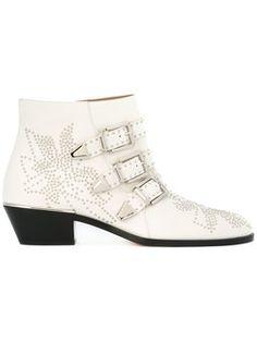 Ankle boot de couro 'Susanna'