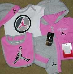 Baby Girl Jordan Clothes Captivating This Is To Cute  Baby Stuff  Pinterest  Babies Babies Clothes Design Ideas
