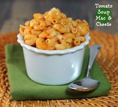 Tomato Soup Mac & Cheese. 330cal per serving