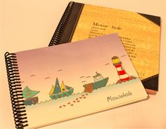 Personalised art books or journals  http://www.southfield-stationers.com/stationery