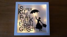 Leuchtender Ribba Rahmen 2 Disney Diy, Disney Crafts, Ribba Frame, Design Palette, Farmhouse Style Decorating, Light Art, Little Gifts, Shadow Box, Diy Gifts