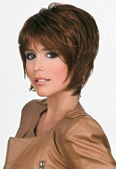 Modern Bob Hairstyles For Women, looking for neat looks is far more important than just a pretty face or the latest 2019 haircut! Choppy Bob Hairstyles, Cute Hairstyles For Short Hair, Hairstyles Haircuts, Short Thin Hair, Short Hair With Layers, Short Hair Cuts, Hair Styles 2016, Medium Hair Styles, Curly Hair Styles