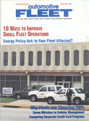 December 1992 Issue - Automotive Fleet Magazine