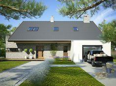 Projekt domu FA Beta II - DOM GC6-43 - gotowy projekt domu