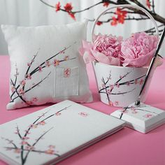 I would make the flowers a different color.  I don't love pink.