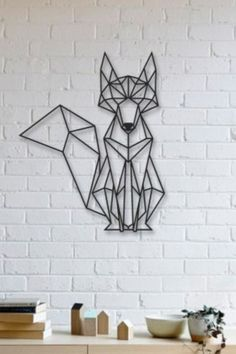 """Awesome """"metal tree wall art decor"""" detail is offered on our internet site. Tree Sculpture, Wall Sculptures, Tree Wall Decor, Wall Art Decor, Metal Animal, Art Fox, Stylo 3d, Geometric Artwork, Geometric Fox"""
