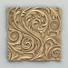 Wall panel 003 Model available on Turbo Squid, the world's leading provider of digital models for visualization, films, television, and games. Wood Carving Designs, Wood Carving Art, Wood Art, Decorative Wall Panels, Decorative Mouldings, Decorative Plaster, Tin Ceiling Tiles, 3d Wall Panels, Ceiling Design