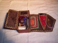 Fanciful Utility: Victorian Sewing Cases & Needle-books