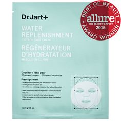 SKIN - newbie - sheet mask $8 What it is formulated to do: Great for all skin types including sensitive skin, Water Replenishment Cotton Sheet Mask contains allantoin and witch hazel for co