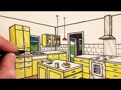Learn How to Draw a Room in Two-Point Perspective in this easy step by step narrated art tutorial from Circle Line Art School. Watch next: How to Draw a Room... (9:19)