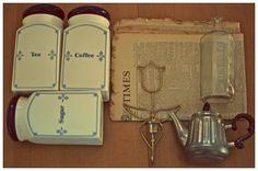 tresures from fleat market Coffee Time, Tea, Blog, Blogging, Coffee Break, Teas