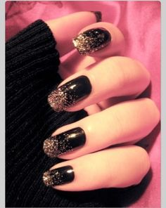 Gold and Black Sparkle (;