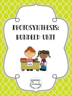 Everything you need for your Photosynthesis Unit: Information includes history of photosynthesis, the amazing leaf (leaf structure), energy in ecosystems, photosynthesis, photosynthetic pathways,and chemosynthesis.