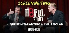 For the film geeks in the audience I have a treat for you! Listen to Christopher Nolan do the Quentin Tarantino Interview about The Hateful Eight.