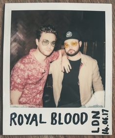 """""""royalblooduk: Me and my friend Ben Thatcher """" Mike Kerr, Royal Blood, Rock Bands, Rock N Roll, Sexy Men, Punk, Photo And Video, Boys, Singers"""
