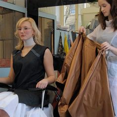 She's talked her next client into an ultra short summer buzzcut. Short Hair Cuts For Women, Short Hair Styles, Nylons, Blouse Nylon, Staff Uniforms, Brave Women, Capes For Women, Cut My Hair, Hair Transformation