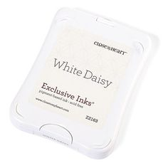 Close To My Heart - Z2163 - White Daisy ink pad (pigment based) - $8.25 from 2014 -