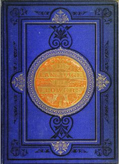 Book Cover the Language of Flowers 1869 |