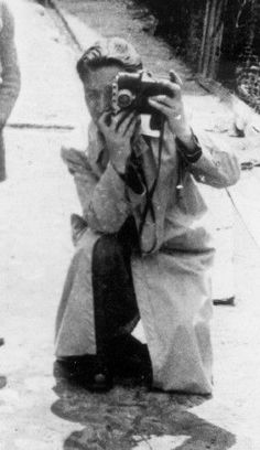 Mendel Grossman. His camera, his testimony. Grossman hid over ten thousand negatives in round tin cans – he gave many of the pictures away to whoever wanted them. He emphasized again and again in conversations with friends that he expected the negatives to reach Israel and to be exhibited as testimony of what took place in the ghetto, proof of this great crime.