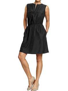 Women's Sleeveless Utility Dresses