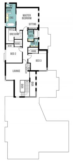 Orient Two Storey Home Plans - First Floor