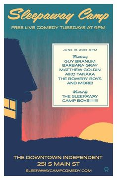 Quick Dish: SLEEPAWAY CAMP Celebrates the 4th of July Tonight 6.16 in DTLA
