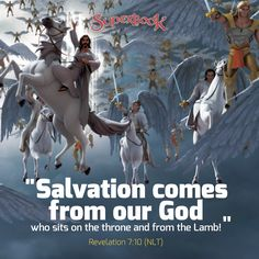 God's forgiveness made it possible for all of us to be saved. You will experience eternal life when you accept Jesus as your Savior!  #Salvation #God #Jesus #Savior #Revelation #Superbook