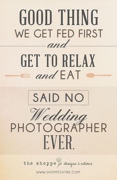 SHOPPE SATIRE ~ HUMOR FOR PHOTOGRAPHERS ~ WEDDING PHOTOGRAPHY JOKE ~ Just Relax…. » The Shoppe Designs Blog