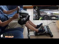 Test du Wheel Stand Pro avec le Logitech g25 - YouTube