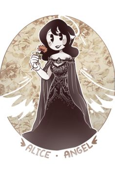 Ok out of all batim girls alice is the prettiest Bendy And The Ink Machine, Bendy Y Boris, Future Wallpaper, Alice Angel, Just Ink, Deal With The Devil, Felix The Cats, Geek Culture, Yandere