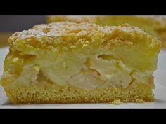 Яблочный ПИРОГ с Заварным Кремом или Польская Шарлотка | Apple pie with cream - YouTube