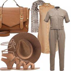 Safari vibe  outfit donna Urban per scuola universit  e ufficio  c83093449240