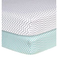 Trend Lab Chevron Flannel Crib Sheets (Pack of 2) | Overstock™ Shopping - Big Discounts on Trend Lab Baby Bed Sheets