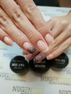 Nu191&nu51&fr.white Nail Polish, Nails, Finger Nails, Ongles, Manicure, Nail, Sns Nails, Polish, Gel Polish