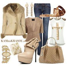 Športovo elegantná v kožušinke #kamzakrasou #sexi #love #jeans #clothes #coat #shoes #fashion #style #outfit #heels #bags #treasure #blouses #dress