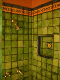 Shower (Mexican Talavera Tile)