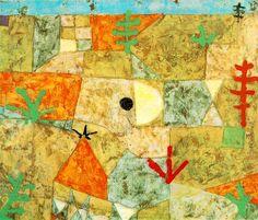 Paul Klee - Jardins do sul