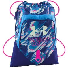 951c404e7a61 Under Armour Undeniable Volleyball Sackpack - Blue Under Armour Backpack