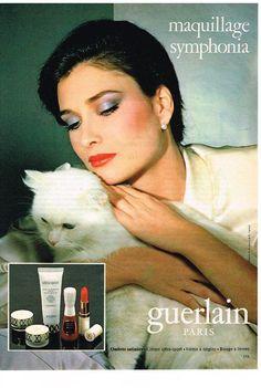 PUBLICITE 1980 GUERLAIN cosmétiques in Collections, Objets publicitaires, Publicités papier | eBay