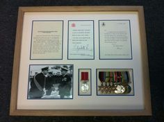 Medals and Letters.