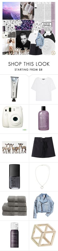 """""""you got that kind of love"""" by lucidmoon ❤ liked on Polyvore featuring L:A Bruket, rag & bone, Fujifilm, philosophy, WALL, NARS Cosmetics, ZALORA, Christy, Living Proof and Topshop"""