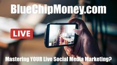 Today, social media is all about being in the moment. How to master the art of going live. Free Market, Social Media Marketing, Education, Live, Business, Career, Facebook, Amazing, Check