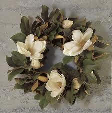 Magnolia  - love this wreath