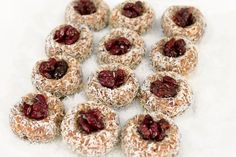 barre3: Cranberry Thumbprint Cookies